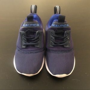 Blue & Black Nautica Baby Shoes / Sneakers Size 5